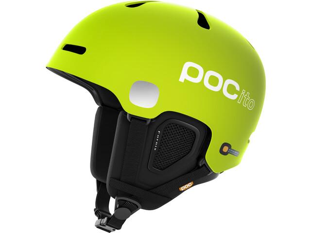 POC Kids POCito Fornix Helmet Flourescent Yellow/Green